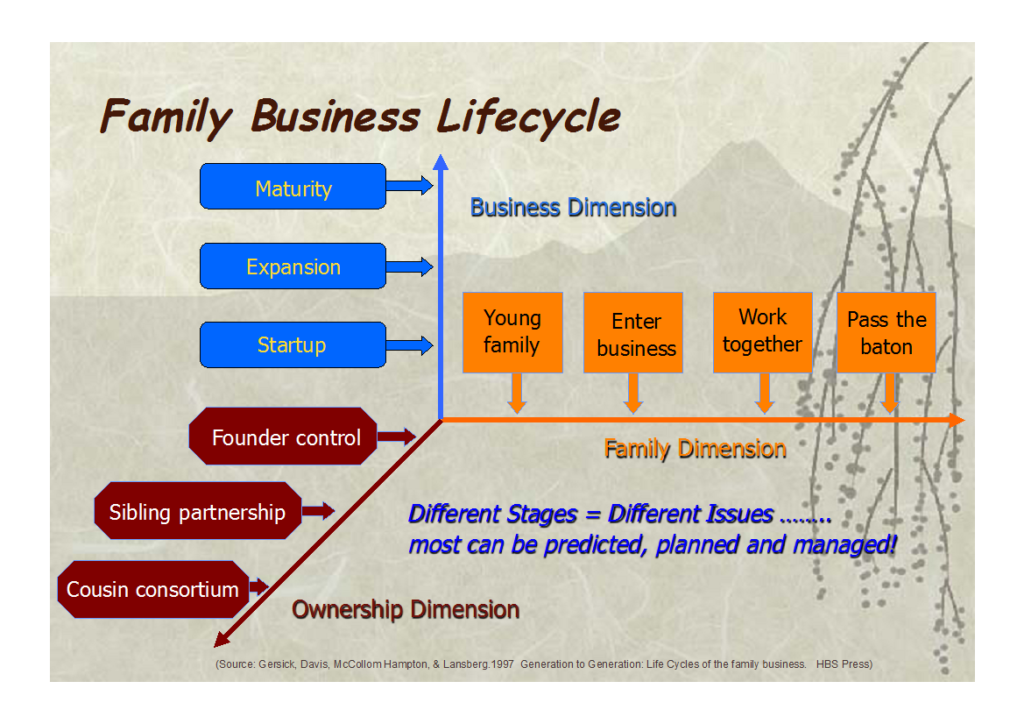 Family Business Needs - Family Business Lifecycle